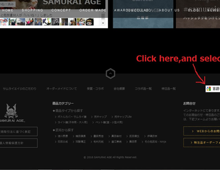 If you can't see our website in YOUR language.のイメージ